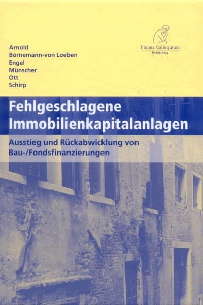 Anwalt Berlin Immobilienkapitalanlagen