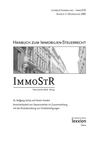 Anwalt Berlin Immobilien-Steuerrecht
