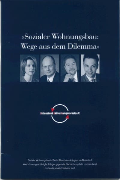 Anwalt Berlin Sozialer Wohnungsbau
